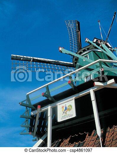 Travel to Netherlands - csp4861097