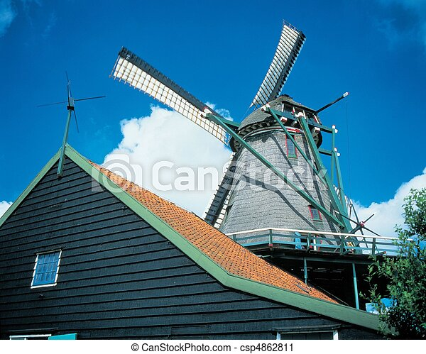 Travel to Netherlands - csp4862811