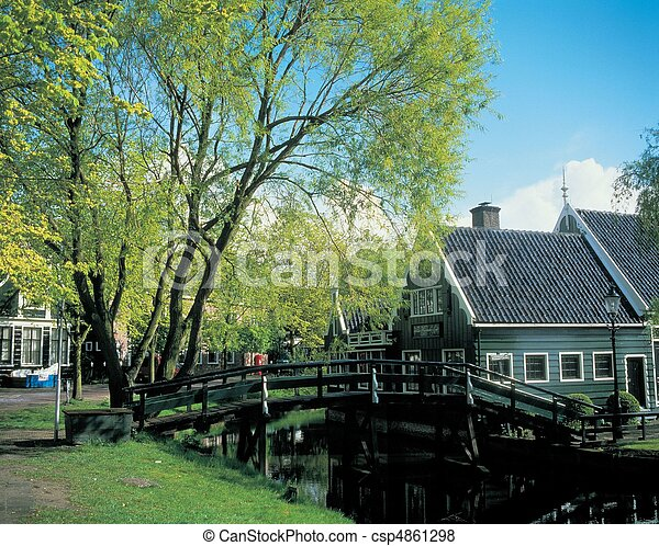 Travel to Netherlands - csp4861298