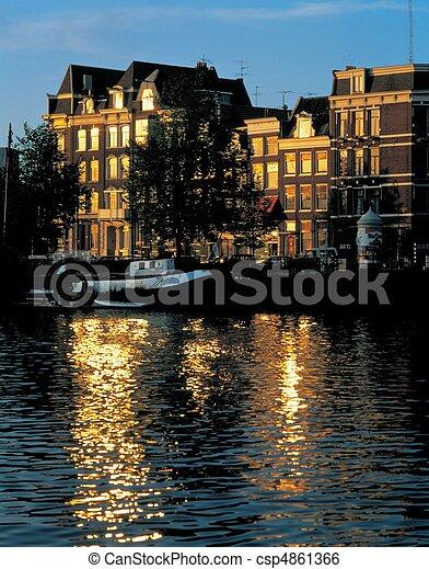Travel to Netherlands - csp4861366