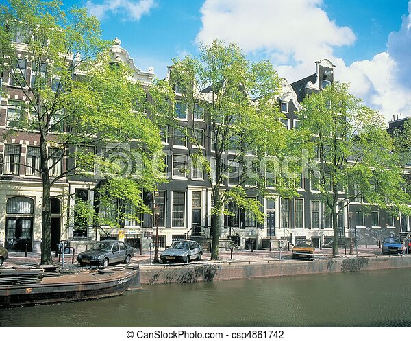 Travel to Netherlands - csp4861742