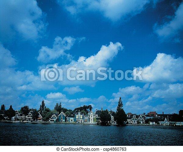 Travel to Netherlands - csp4860763