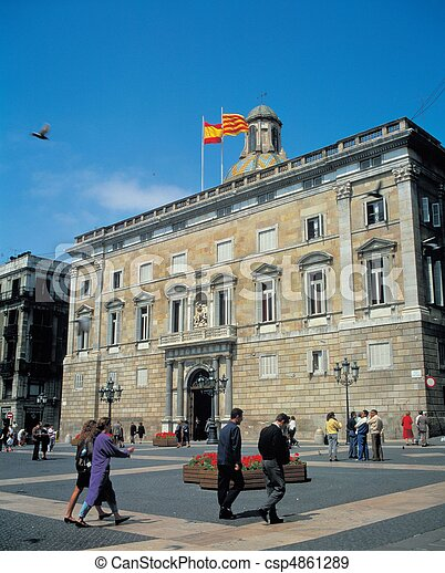 Travel to Spain - csp4861289