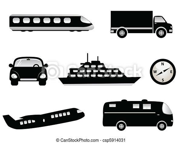Travel, transportation and tourism - csp5914031
