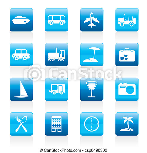 Travel, transportation, tourism  - csp8498302