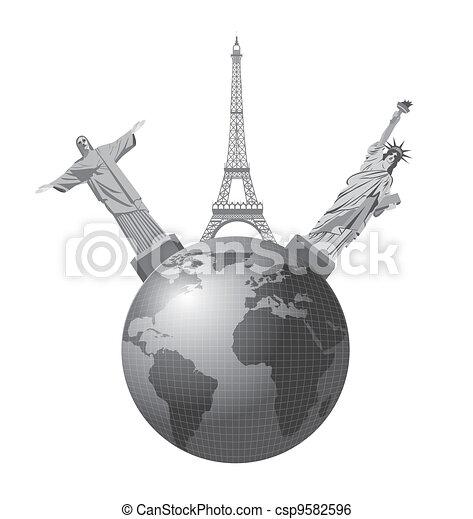 travel vector - csp9582596
