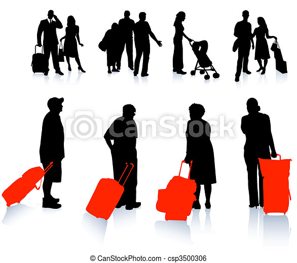 Traveler Silhouette Collection - csp3500306