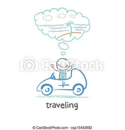 traveling - csp15442692