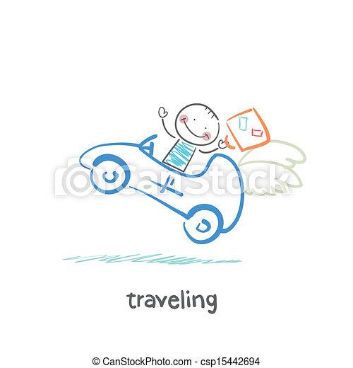 traveling - csp15442694