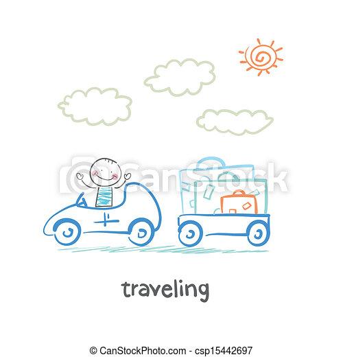 traveling - csp15442697