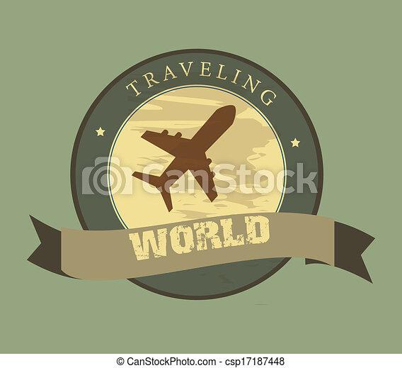 traveling  - csp17187448