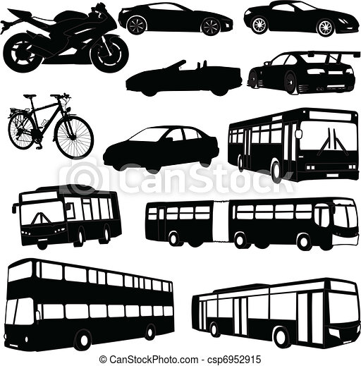illustration of traveling vehicle vector rh canstockphoto com vehicle clipart cartoon vehicle clipart black and white