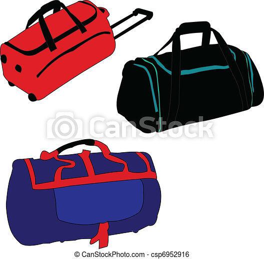 illustration of travelling bag vector clip art vector search rh canstockphoto com bag vector free download bac vector has low copy number than plasmid