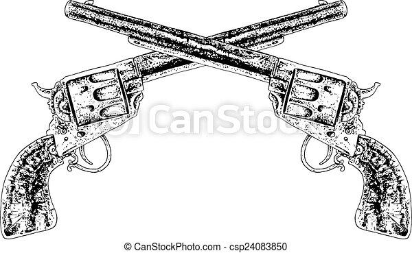 traversé, fusils - csp24083850