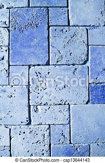 Trasfondo de textura de baldosas travertinas - csp13644143