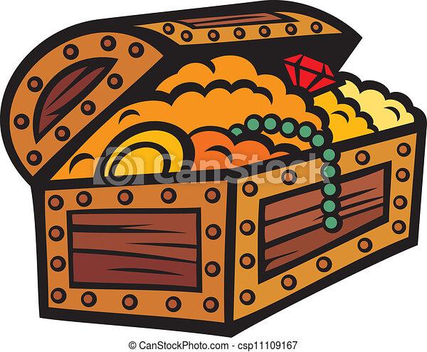 treasure chest - csp11109167
