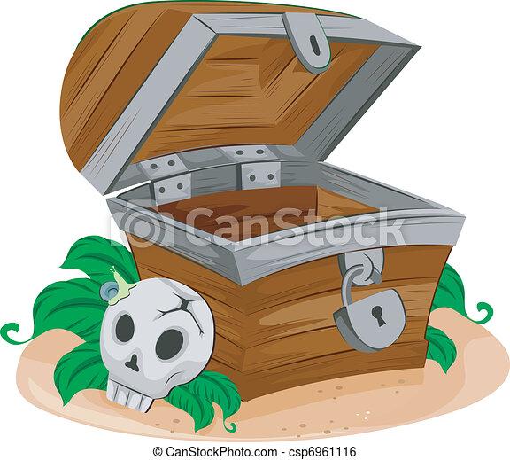 Treasure Chest - csp6961116