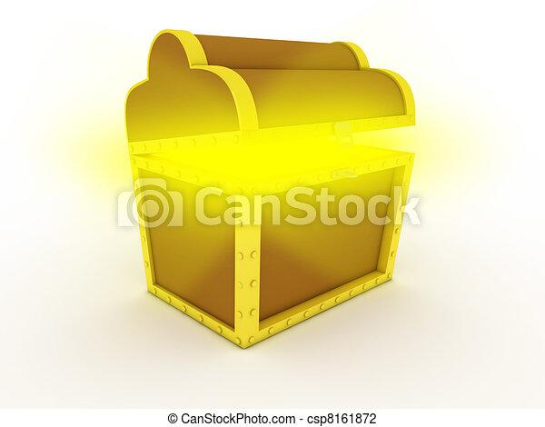 Treasure chest - csp8161872