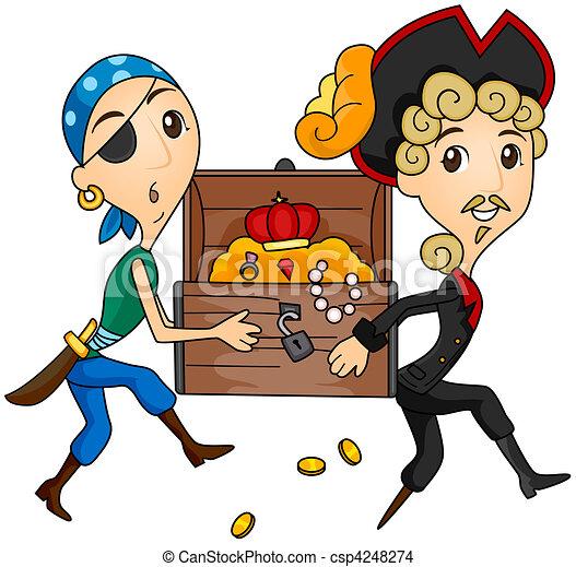 Treasure Chest - csp4248274