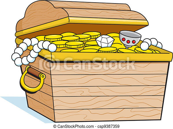 Treasure Chest - csp9387359