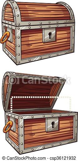 Treasure chest - csp36121932