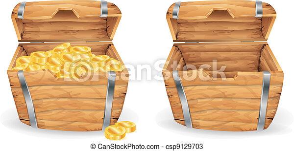 Treasure chest - csp9129703