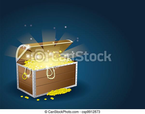 Treasure chest - csp9912873