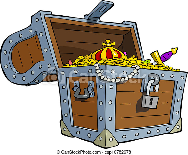 Treasure chest - csp10782678