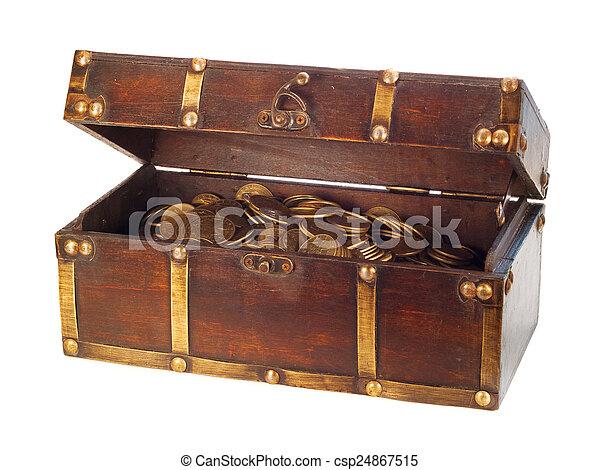 Treasure Chest - csp24867515