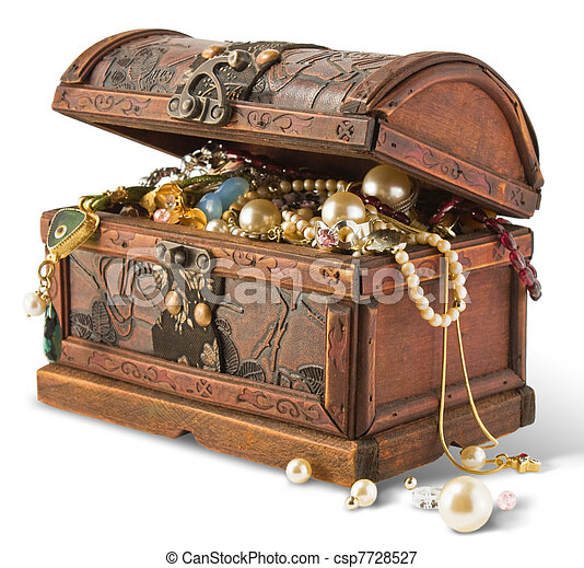 Treasure chest - csp7728527