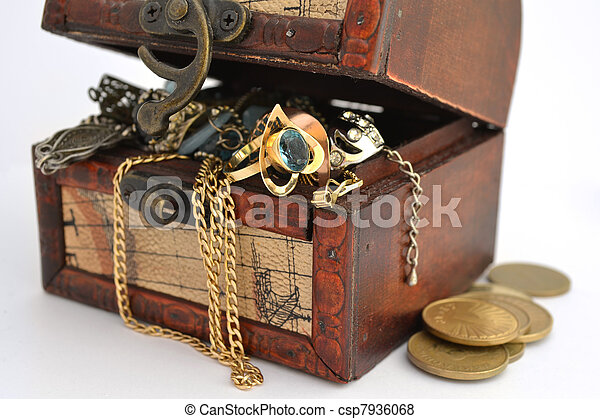 Treasure chest - csp7936068