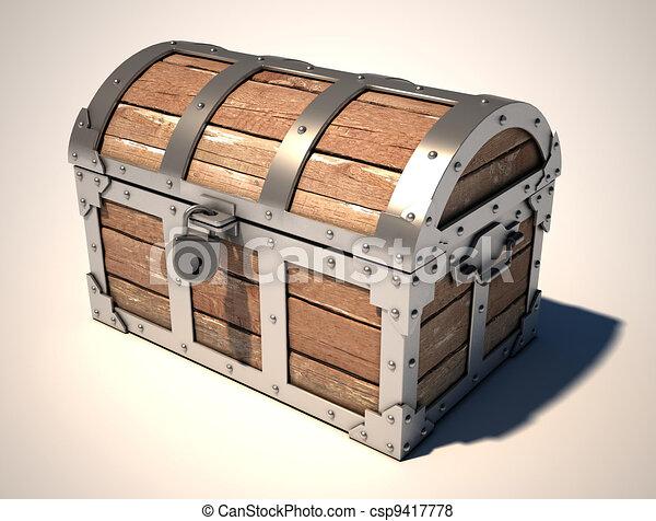 treasure chest - csp9417778