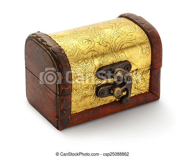 Treasure chest - csp25088862