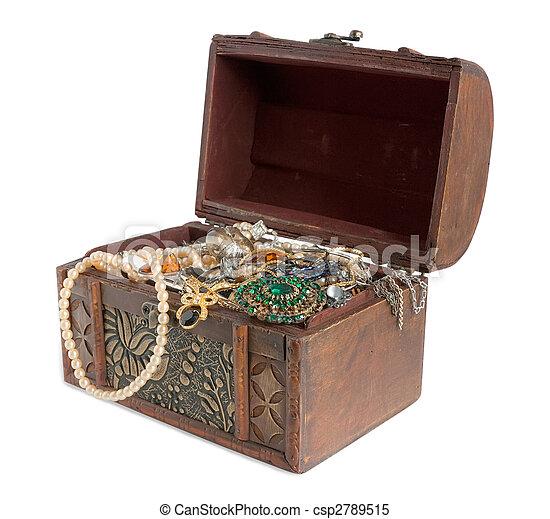 Treasure chest - csp2789515