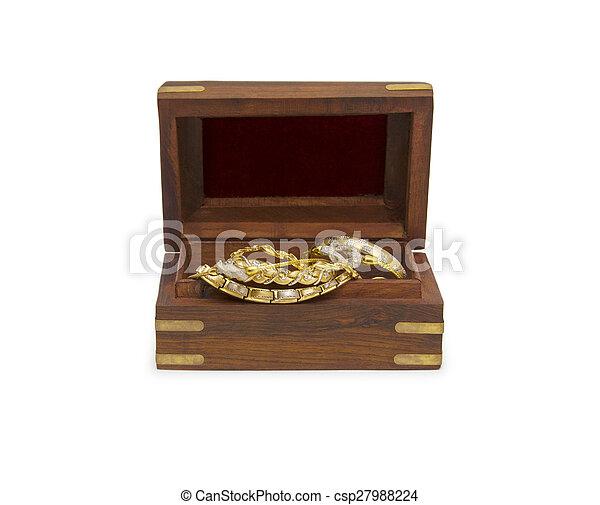 Treasure chest - csp27988224