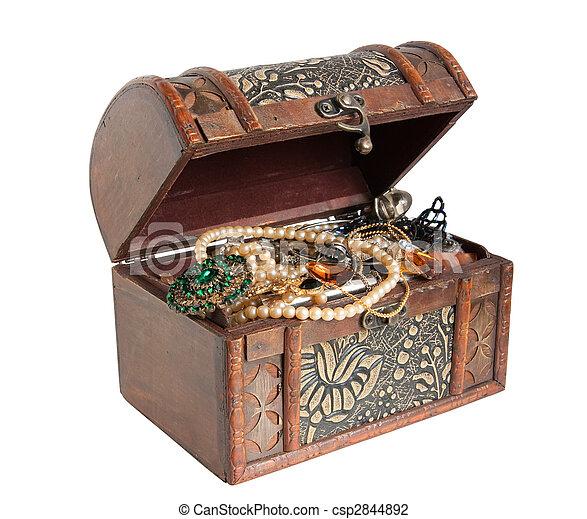 treasure chest - csp2844892