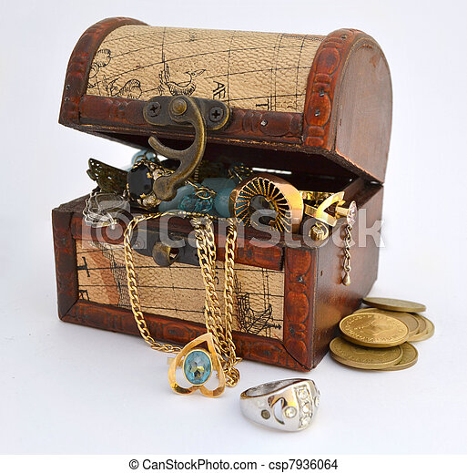Treasure chest - csp7936064