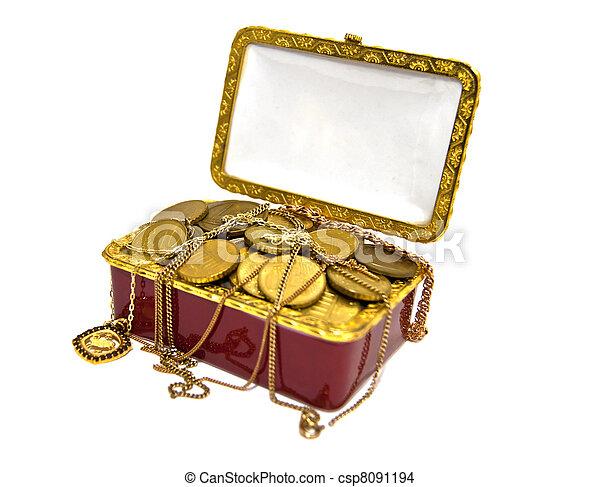 treasure chest - csp8091194