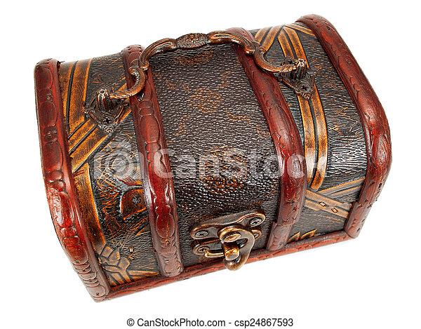 Treasure chest - csp24867593