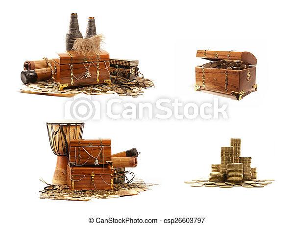 Treasure chest - csp26603797