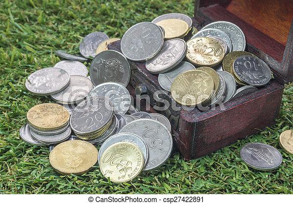 Treasure chest - csp27422891