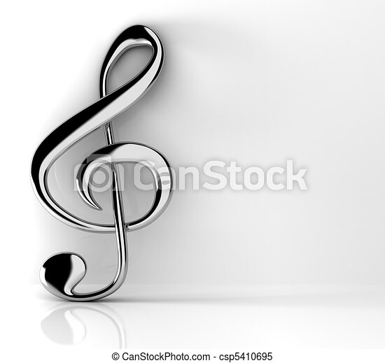 Treble clef - csp5410695