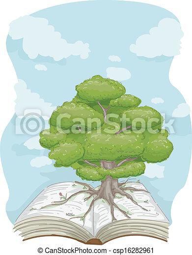 Tree Book - csp16282961