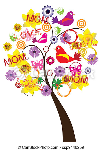 tree for mother's day - csp9448259