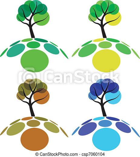 tree four seasons spring summer autumn and winter eps vector rh canstockphoto com seasons clip art free printable seasonal clip art