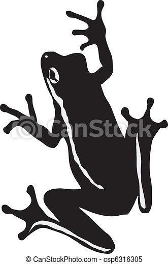tree frog rh canstockphoto com Funny Frog Clip Art red eyed tree frog clip art