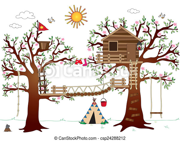 Free Tree House Clipart, Download Free Clip Art, Free Clip Art on Clipart  Library