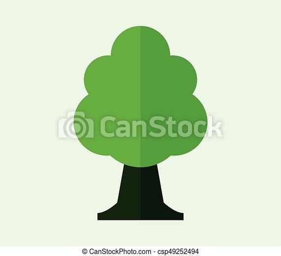 Tree icon - csp49252494
