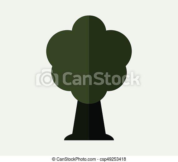Tree icon - csp49253418