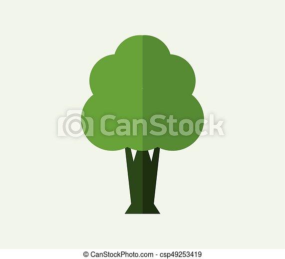 Tree icon - csp49253419